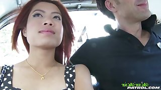 Horny best-liked up Thai nympho May gets exposed and treats man with a BJ