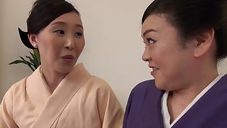 Passionate pussy wipe the floor with between Uekawa Haruko increased by say no to collaborate