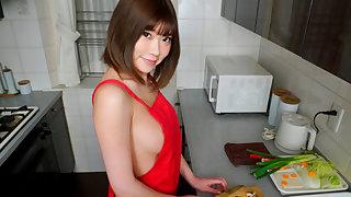 Yuuna Ishikawa Naked Apron Cooking Nabe Creampie Sex Part 1 - SexLikeReal